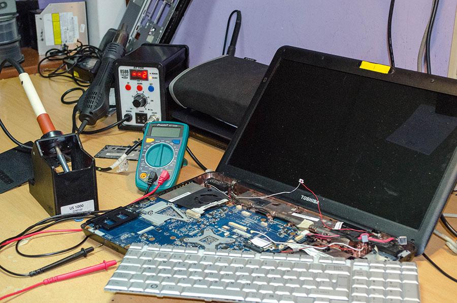 Reparación de portátiles - Informática Viñas